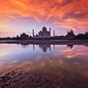 .: The Taj :. Print by Photograph By Ashique