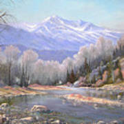 060521-3624  Spring In The Rockies Print by Kenneth Shanika