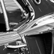 1969 Ford Mustang Mach 1 Side Scoop Print by Jill Reger