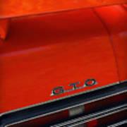 1969 Pontiac Gto The Judge Print by Gordon Dean II