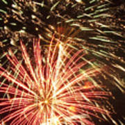 4th Of July Fireworks Print by Joe Carini - Printscapes