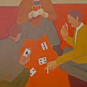 5 Card Stud Print by Renee Kahn