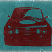 Alfa Romeo Gtv Print by Naxart Studio