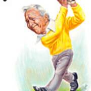 Arnie Print by Harry West