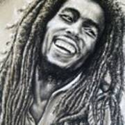 Bob Marley Print by Anastasis  Anastasi