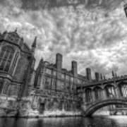 Bridge Of Sighs - Cambridge Print by Yhun Suarez