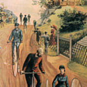 Columbia Bicycles Poster Print by Granger