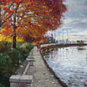 Fall In Port Credit On Print by Ylli Haruni