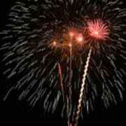 Fireworks Print by Marti Buckely