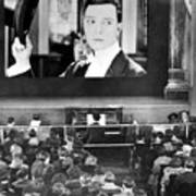 Movie Theater, 1920s Print by Granger