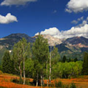 Rocky Mountains Print by Mark Smith