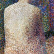 Seurat: Model, C1887 Print by Granger