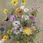 Summer Flowers Print by John Gubbins