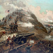 The Capture Of Fort Fisher Print by War Is Hell Store