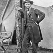The Civil War. Ulysses S. Grant. 1864 Print by Everett