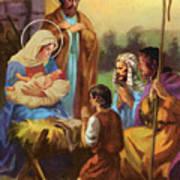 The Nativity Print by Valer Ian