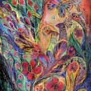 The Olive Tree Print by Elena Kotliarker