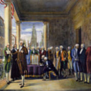 Washington: Inauguration Print by Granger