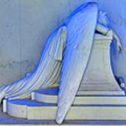 Weeping Angel Print by Ellis C Baldwin