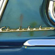 1953 Studebaker Champion Starliner Abstract Print by Jill Reger