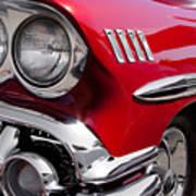 1958 Chevy Impala Print by David Patterson