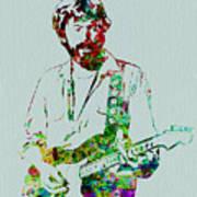 Eric Clapton Print by Naxart Studio