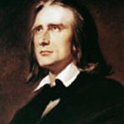 Franz Liszt (1811-1886) Print by Granger