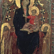 Madonna And Child Print by Granger