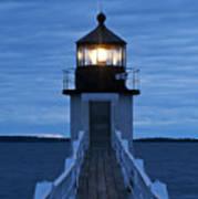 Marshall Point Light Print by John Greim