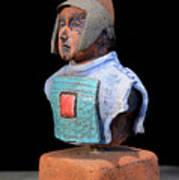 Roman Legionaire - Warrior - Ancient Rome - Roemer - Romeinen - Antichi Romani - Romains - Romarere Print by Urft Valley Art