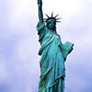 Statue Of Liberty Print by Sami Sarkis