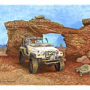 2005 Jeep Rubicon 4 Wheeler Print by Jack Pumphrey