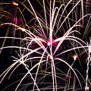 2011 Fireworks Print by Robert  Torkomian