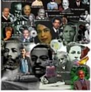 Major Inventors And Scientists Print by Purpose Publishing