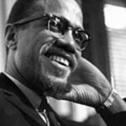 Malcolm X (1925-1965) Print by Granger