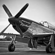 P 51 Mustang Print by Eric Miller