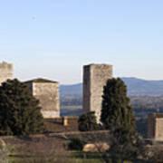 San Gimignano Print by Andre Goncalves