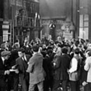 Silent Film Still: Crowds Print by Granger