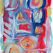 Abstract On Paper No. 31 Print by Michael Henderson