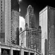 35 East Wacker Chicago - Jewelers Building Print by Christine Till
