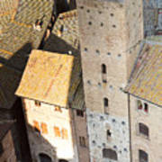 San Gimignano Print by Andre Goncalves