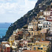 Amalfi Coast Print by Andre Goncalves