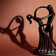A Couples Dance Print by Cherie Duran