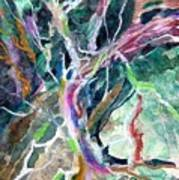 A Dying Tree Print by Mindy Newman