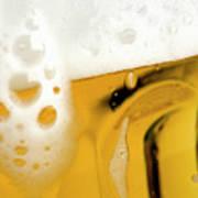 A Glass Of Beer Print by Caspar Benson