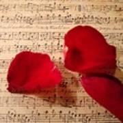 A Romantic Note Print by Kathy Bucari