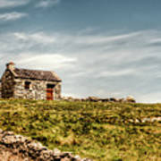A Shack On The Aran Islands Print by Natasha Bishop