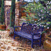 A Shady Resting Place Print by David Lloyd Glover