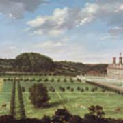 A View Of Bayhall - Pembury Print by Jan Siberechts