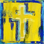Abstract Crosses Print by David G Paul